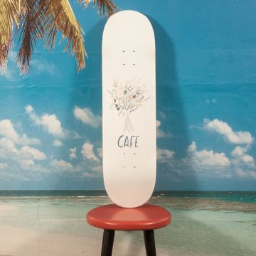 Skateboard Cafe - Bouquet Deck - 8.5