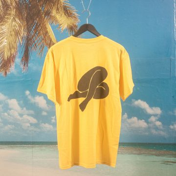 Becky Factory - Legs T-Shirt - Yellow