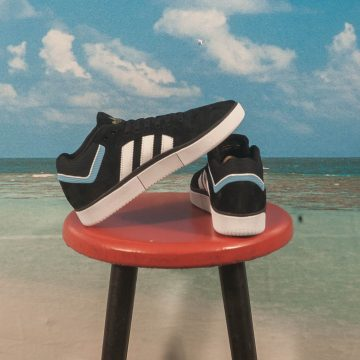 adidas Skateboarding - Tyshawn - Black / White / Blue