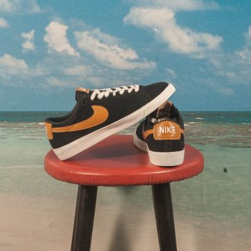 Nike SB - Blazer Low GT - Black / Wheat - Summit White