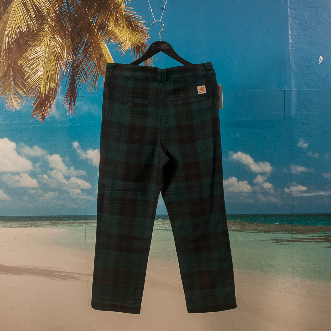 Carhartt WIP - Pulford Check Pant - Duck Blue