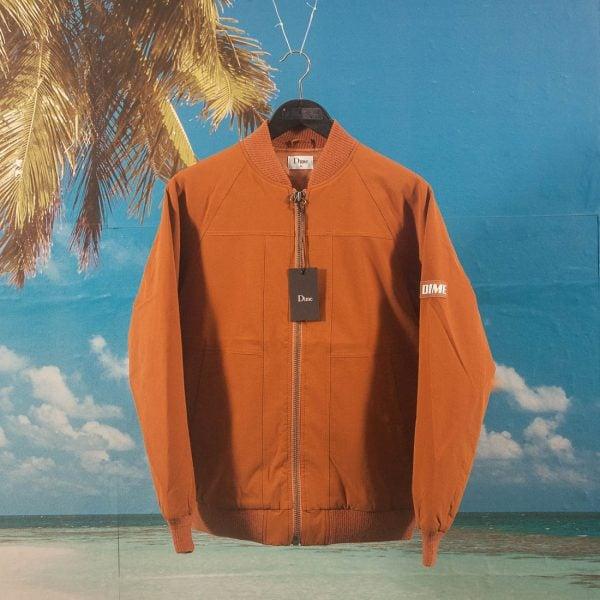 designer fashion 81428 40eb0 Dime MTL - MA-1 Bomber Jacket - Caramel
