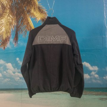 Dime MTL - Polar Fleece Track Jacket - Navy / Charcoal