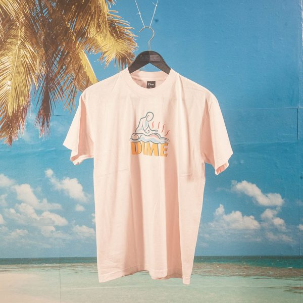 Dime MTL - Relief T-Shirt - Light Pink