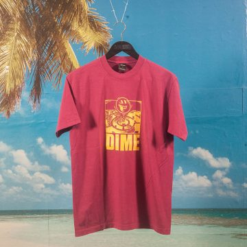 Dime MTL - No Way Out T-Shirt - Ruby