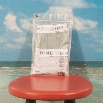 "Dime MTL - Loose Fit Boxers ""2Pack"" - Green / Light Purple"