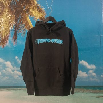 Fucking Awesome - Stamp Hoodie - Black