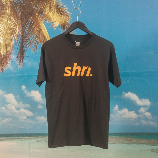 SHRN - Logo T-Shirt - Black / Gold