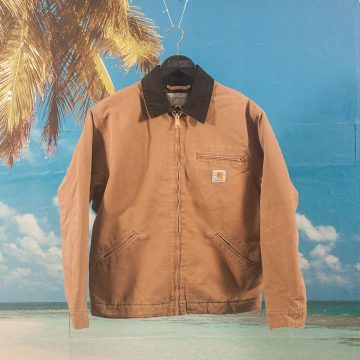 Carhartt WIP - OG Detroit Jacket - Hamilton Brown / Black