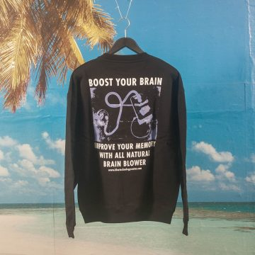 Polar Skate Co. - Brain Blower Crewneck - Black