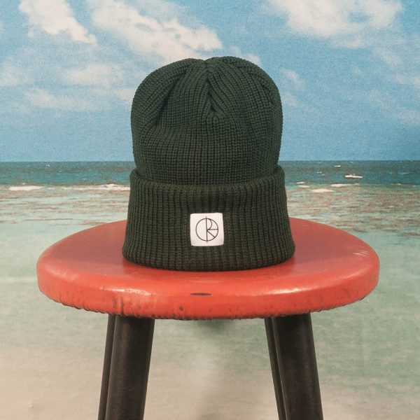 Polar Skate Co. - Double Fold Merino Beanie - Dark Green