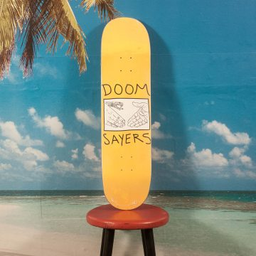 Doomsayers - Snake Shake Yellow Deck - 8.1