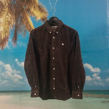 Carhartt WIP - Madison Cord Shirt - Tobacco