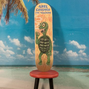 "Toy Machine - Axel ""Turtle Gamera"" Deck - 8.25"