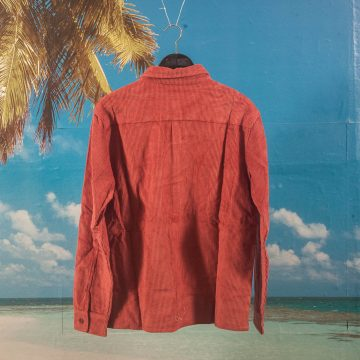 WKND Skateboards - Major Cord Button Up Shirt - Burgundy