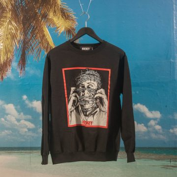 Hockey - Barbwire Crewneck - Black
