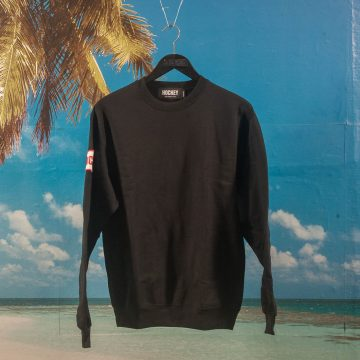 Hockey - Patch Crewneck - Black