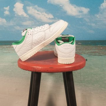 "Nike SB - Dunk Low OG ""Ben G"" - White / White - Lucid Green - Sail"