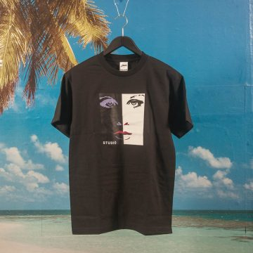Studio Skateboards - Silouette Face T-Shirt - Black