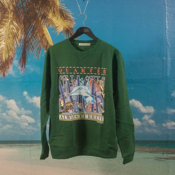 Quartersnacks - Always Current Crewneck - Green
