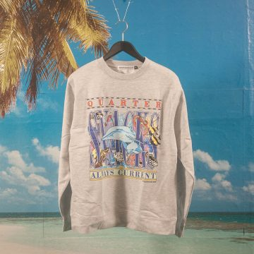 Quartersnacks - Always Current Crewneck - Grey