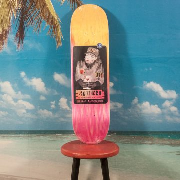 "Antihero Skateboards - Anderson ""2084"" Deck - 8.75"
