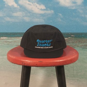 Quartersnacks - Data Plan Cap - Black