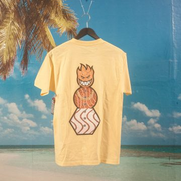 Quartersnacks X Spitfire Wheels - Snackman T-Shirt - Banana