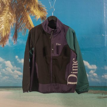 Dime MTL - Range Jacket - Black / Teal