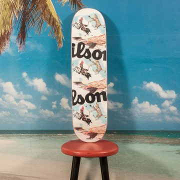 "Quasi Skateboards - Wilson ""Fight"" White - 8.25"