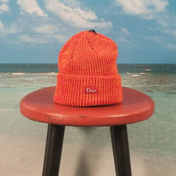 Dime MTL - Marled Beanie - Orange