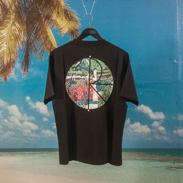 Polar Skate Co. - Garden Fill Logo T-Shirt - Black