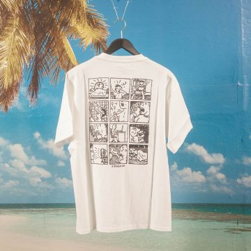 Polar Skate Co. - A Regular Day T-Shirt - White