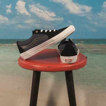 "Vans - Sk8-Low Pro ""Streetmachine"" - Black / Dress Blue / True White"