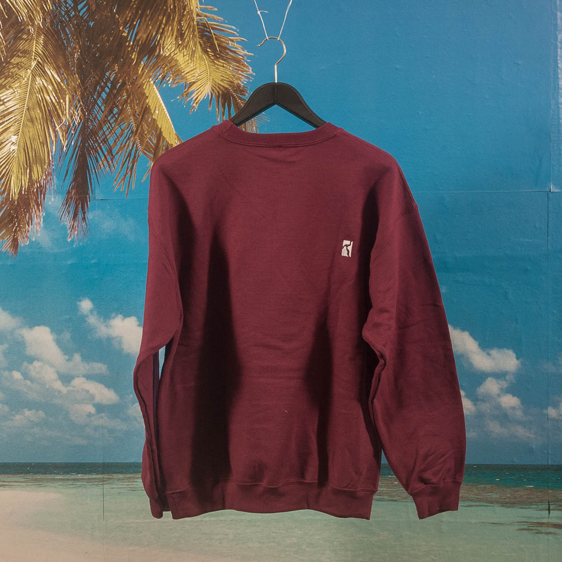 Poetic Collective - Still Life Crewneck - Maroon