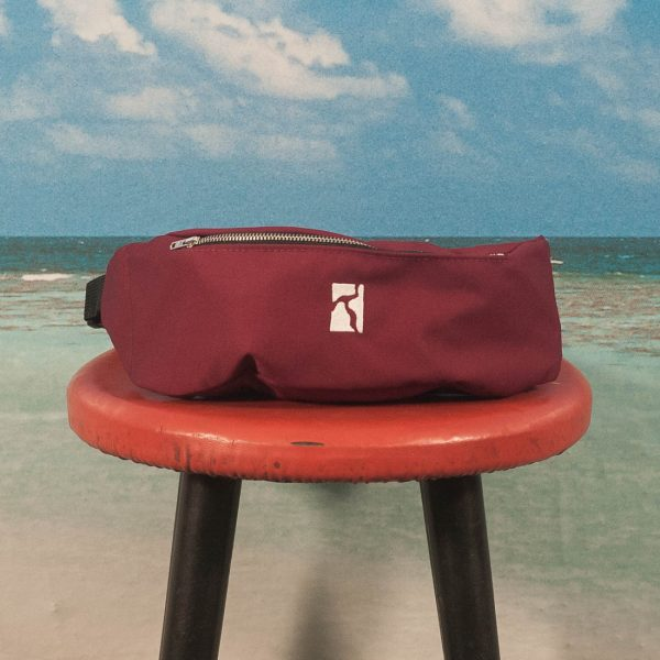 Poetic Collective - Premium Belt Bag - Maroon