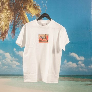 Skateboard Cafe - Dawn T-Shirt - White