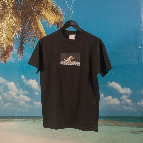 Skateboard Cafe - Bowling T-Shirt - Black