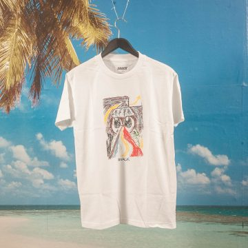 Snack Skateboards - Baychild T-Shirt - White