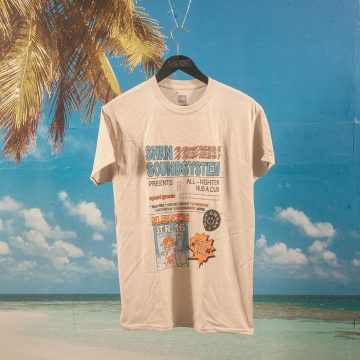 SHRN - Soundsystem T-Shirt - Natural