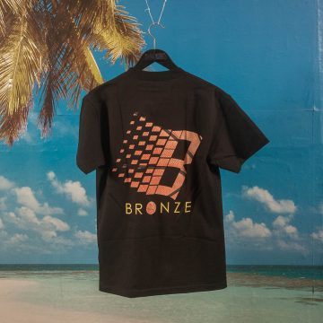Bronze 56k - Logo Basketball T-Shirt - Black