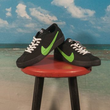 "Nike SB - Bruin Zoom ""Poets"" QS  - Black / Voltage Green - White"