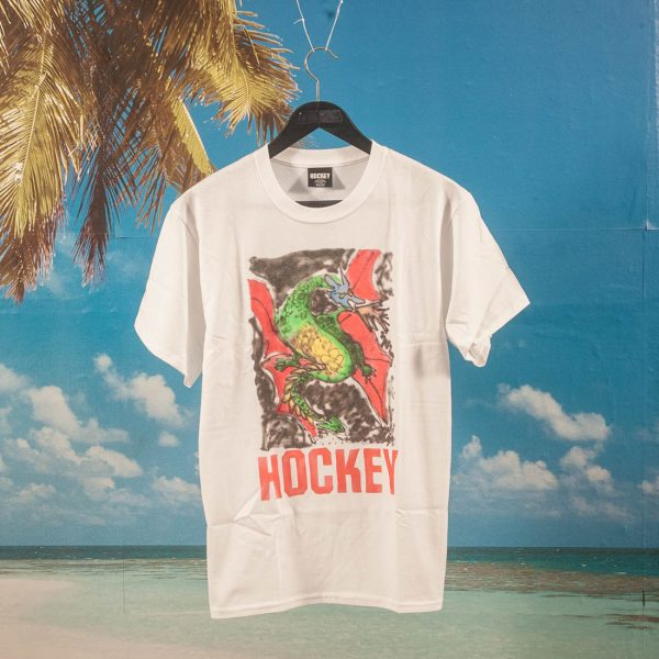 Hockey - Dragon T-Shirt - White