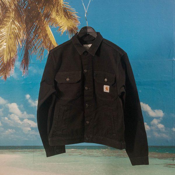 Carhartt WIP Stetson Jacket Black Rinsed