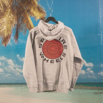 Spitfire Wheels - Classic 87 Swirl Hoodie - Grey Heather