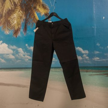 Carhartt WIP - Single Knee Pant - Black Garment Dyed