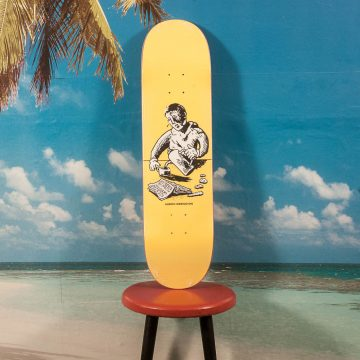 "Polar Skate Co. - Aaron Herrington ""Breakfast Yellow"" Deck - 8.25"