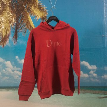 Dime MTL - Classic Logo Hoodie - Red