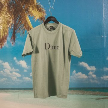 Dime MTL - Classic Logo T-Shirt - Atlantic Green