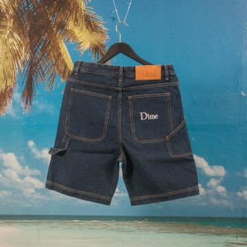 Dime MTL - Jean Shorts - Blue